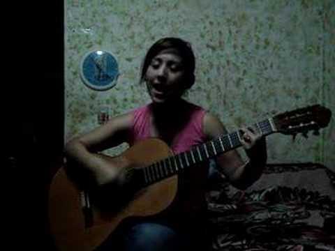 Nancy Peña cantando Tù