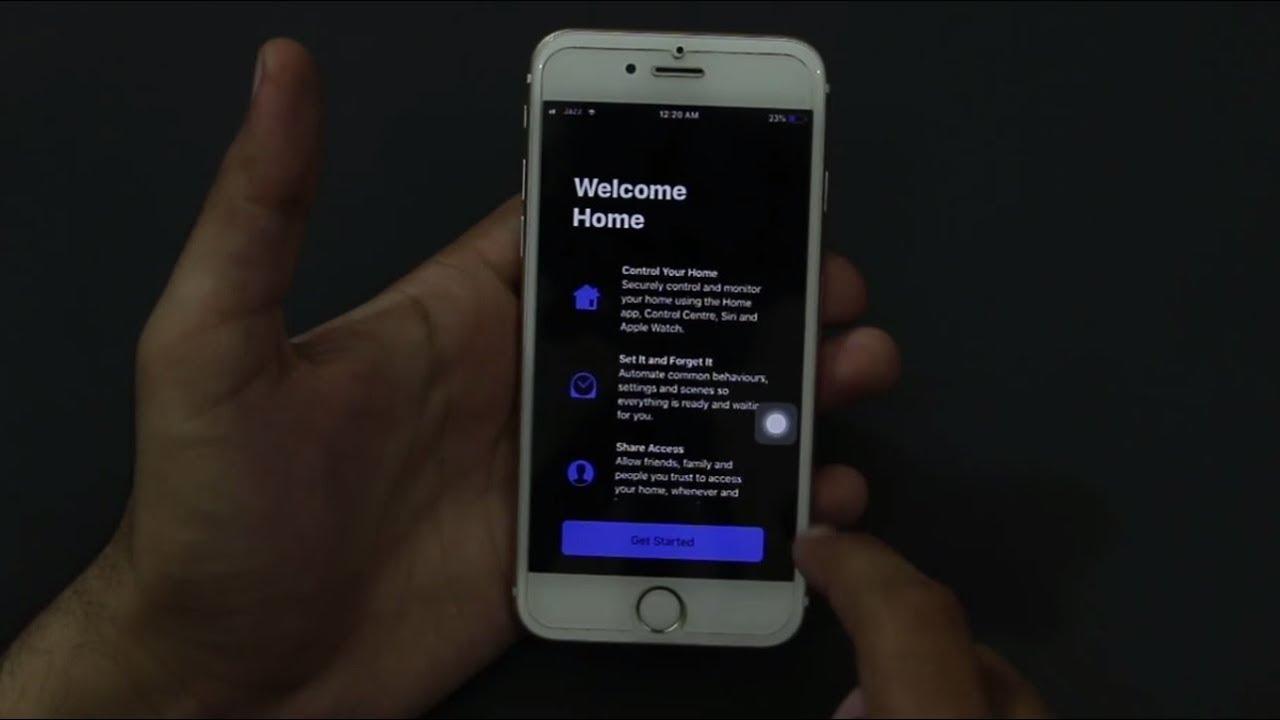 How To Enable Dark Mode Iphone 5 6 6s 6 Plus 7 7 Plus 8 8 Plus Iphone X Ios 11 Youtube