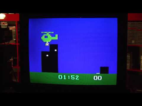 Classic Game Room - OUT OF THIS WORLD! HELICOPTER RESCUE! review for Magnavox Odyssey 2