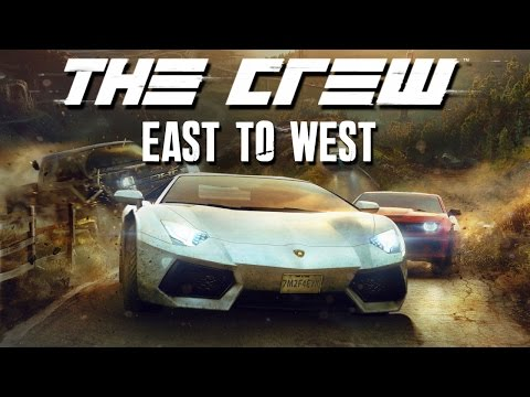The Crew EAST TO WEST - FREE ROAM - New York, Washington & Dallas Ep.1 Gameplay Walkthrough (Part 2)