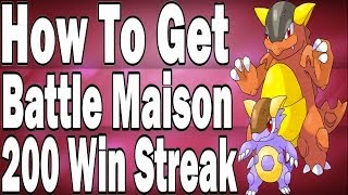 dragon s guide on how to get a battle maison 100 to 200 win streak in pokemon x and y