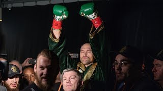 Goosebumps! Nobody does a ring walk like Tyson Fury | Los Angeles, Belfast, Manchester
