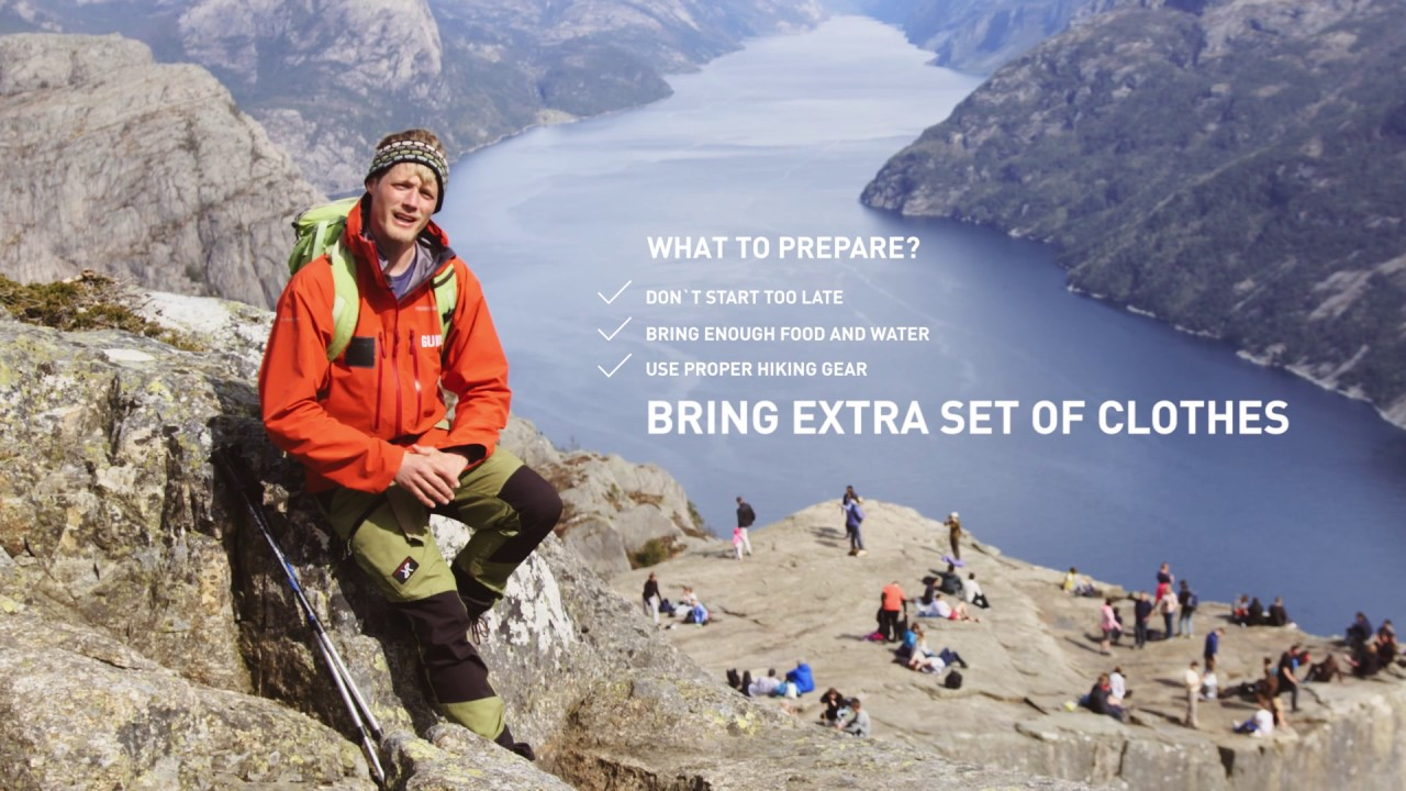 Safety tips for your summer hike to Preikestolen