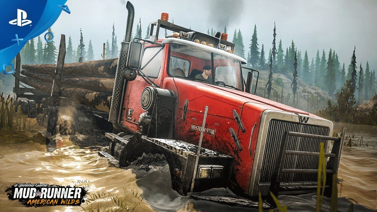spintires mudrunner american wilds teaser trailer. Black Bedroom Furniture Sets. Home Design Ideas