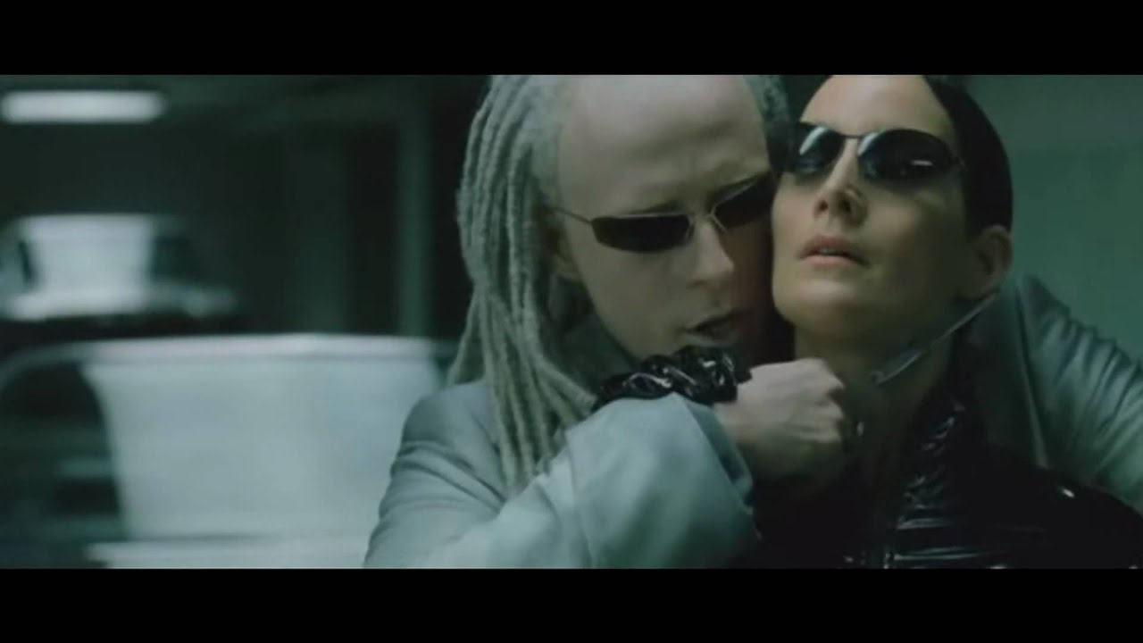 The Matrix Reloaded Morpheus Vs Twins Youtube Neo Trinity My Amplifier