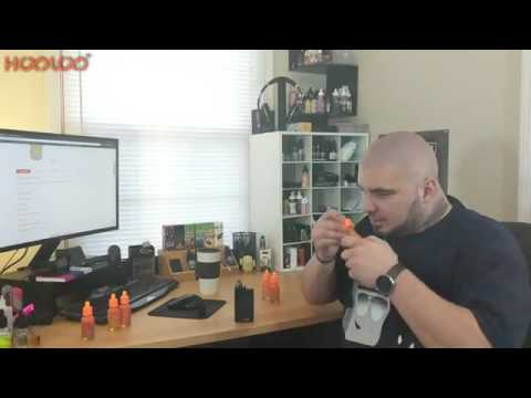 HOOLOO e-juice fruit line e-liquid review by SteamRoom Vaping