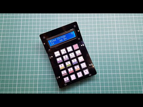 KKmoon calculator kit with built-in resistor / LED / HEX functions (electronics tutorial)