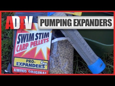 AD QuickBite - Pumping Expander Pellets With The Preston Pellet Pump
