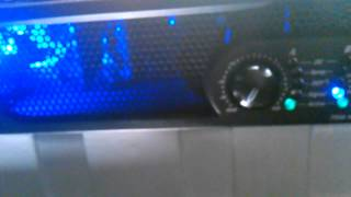 Matching Output Voltage Peavey IPR2 7500