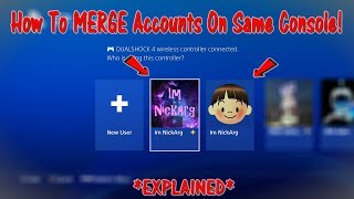 How To MERGE Fortnite Accounts On The SAME CONSOLE! *EXPLAINED* | Fortnite Battle Royale