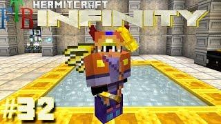 Minecraft Mods - FTB Infinity Ep. 32 - Best Armor Ichor Thaumcraft! ( HermitCraft Modded Minecraft )