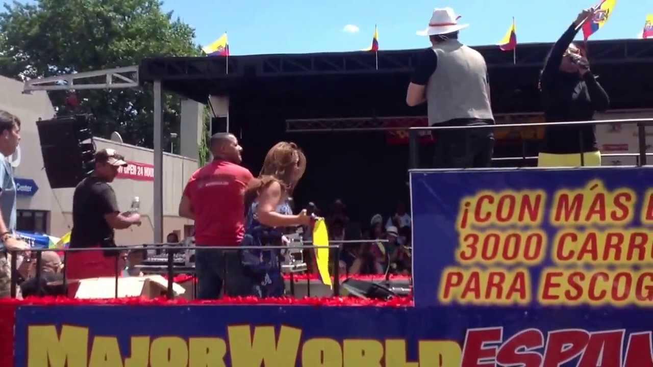 Ecuadorian Parade Queens New York Major World Espanol