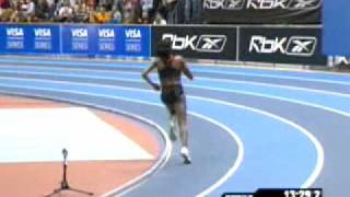 Tirunish Dibaba WR 5k at BIG 2007