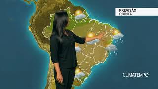 Previsão Brasil – Inverno começa com elevação nas temperaturas