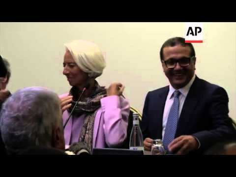 Lagarde comments on efforts to stabilise Ukrainian economy during visit to Morocco