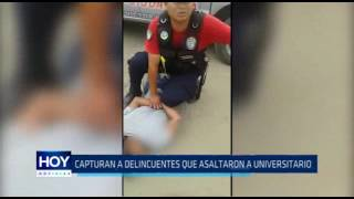 Víctor Larco: Capturan a delincuentes que asaltaron a universitario