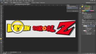 Tutorial.- como hacer tu nombre en letras de dragon ball z en photoshop cs6