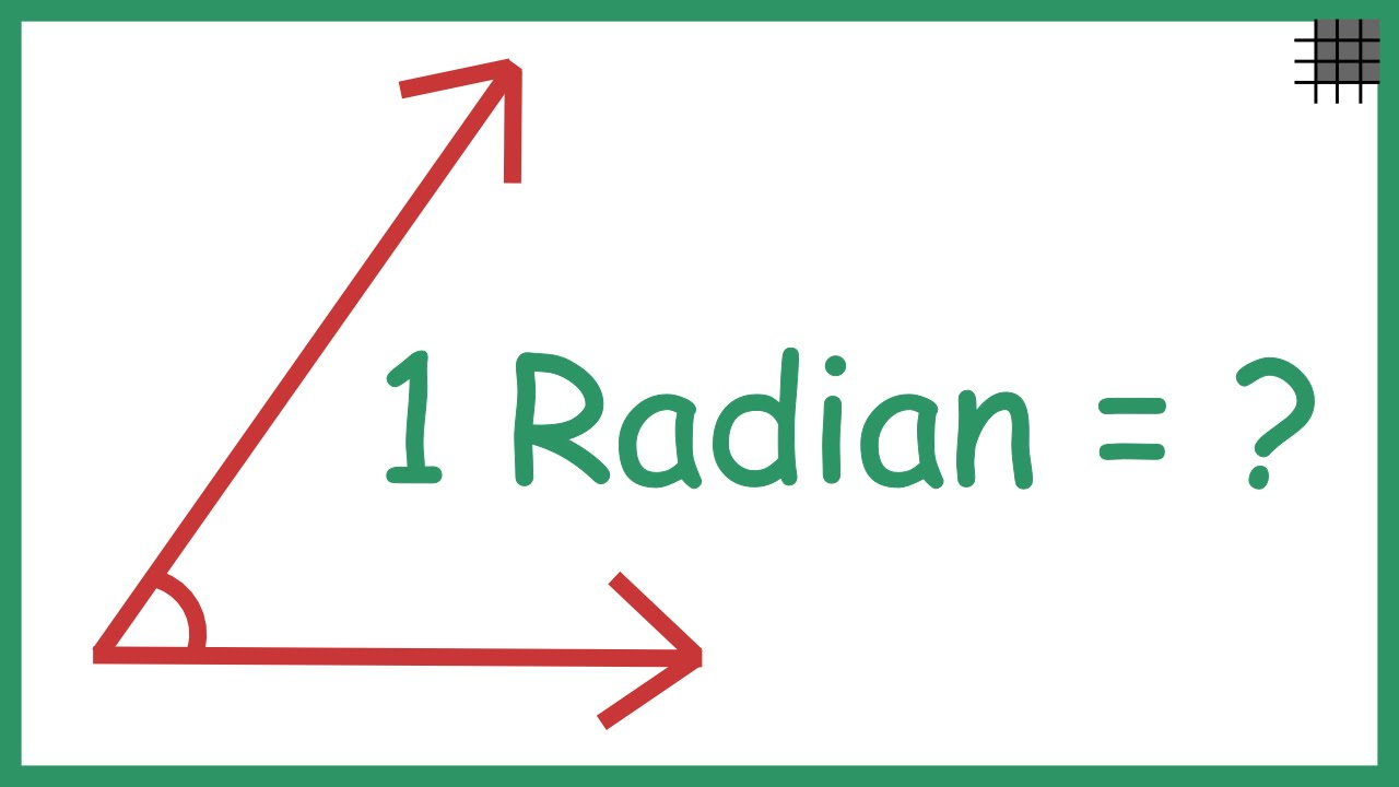 What are Radians? (Old Video)