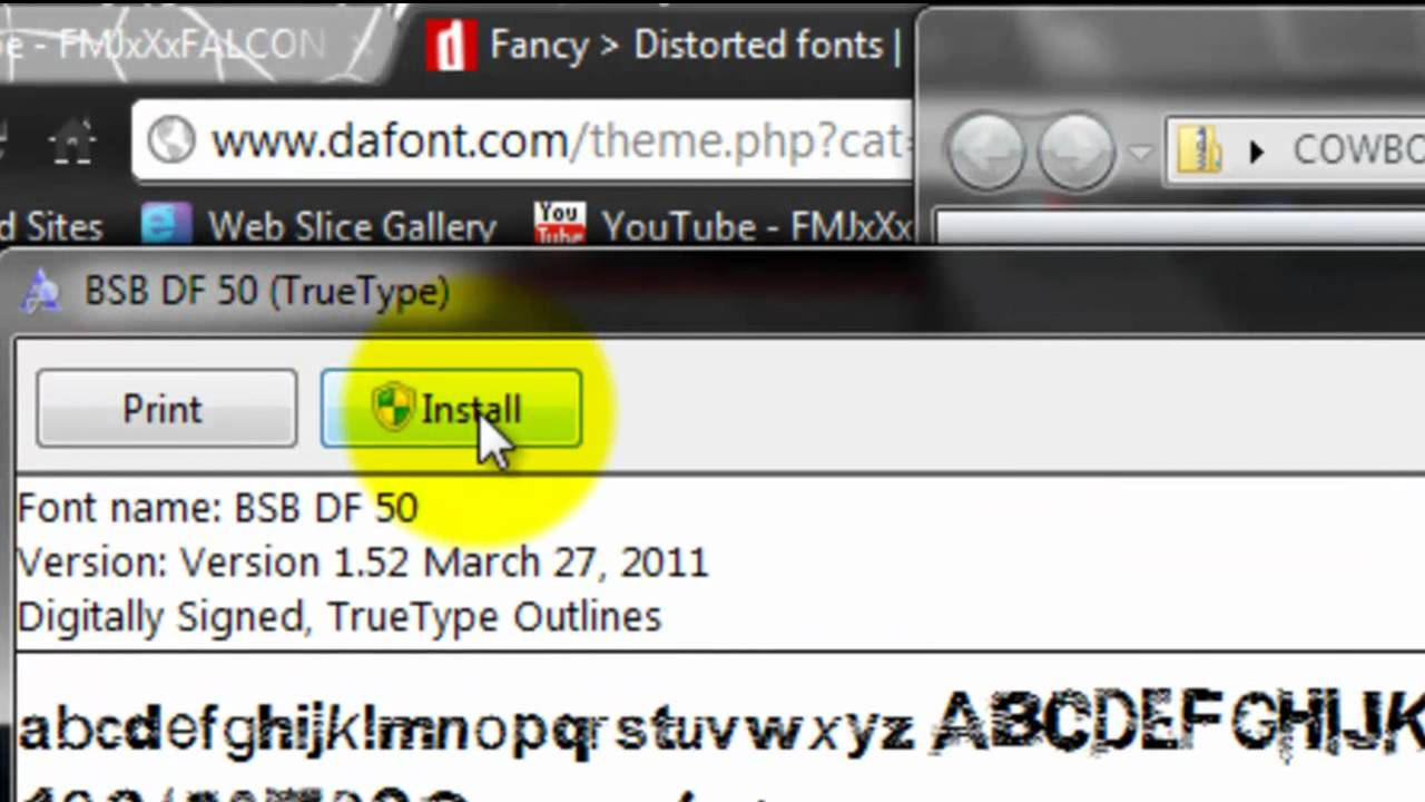 how to add a font to photoshop cs5