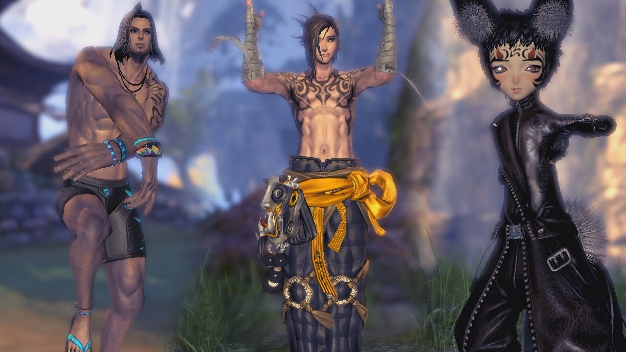Blade and soul gon