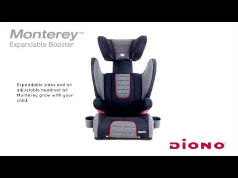 Diono Monterey Expandable Booster - Canada English