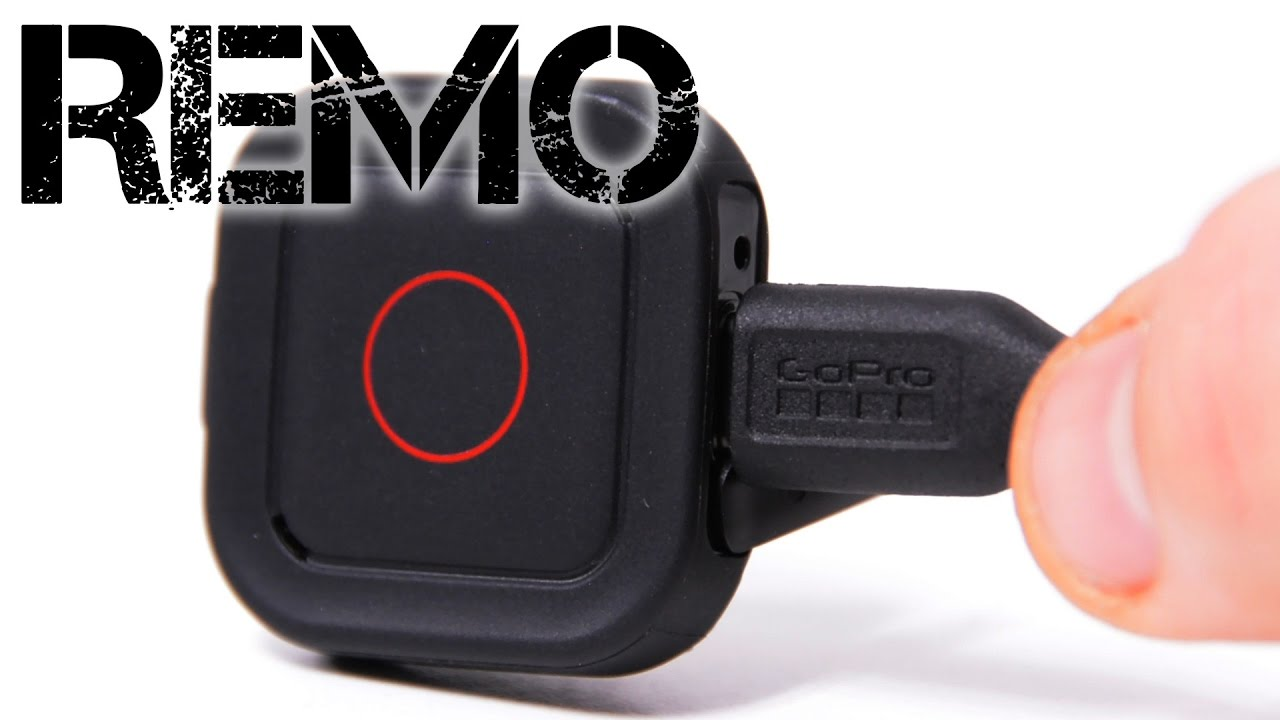 Gopro Remo Voice Activated Remote Control Youtube Hero Acc 20