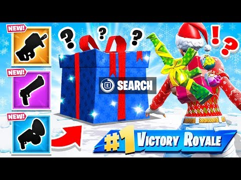 RANDOM Present LOOT WARS *NEW* Game Mode in Fortnite Battle Royale thumbnail