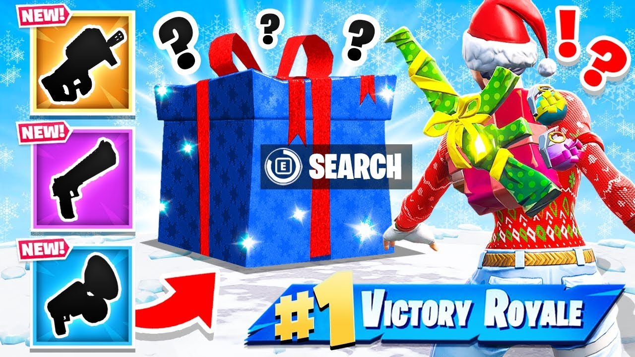 RANDOM Present LOOT WARS *NEW* Game Mode in Fortnite Battle Royale