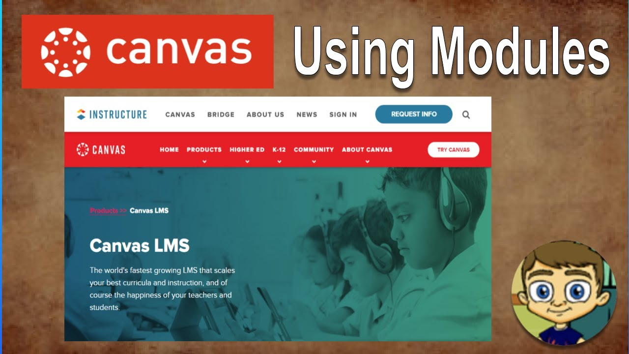 Canvas Lms Tutorial Using Modules To Build A Course Youtube