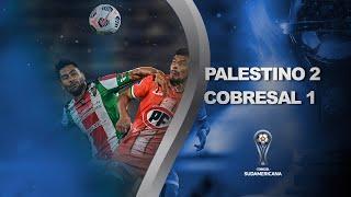 Palestino vs. Cobresal [2-1] | RESUMEN | Primera Fase | VUELTA | CONMEBOL Sudamericana