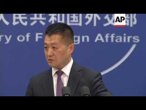 China's Foreign Affairs Ministry On South China Sea And Global Trade