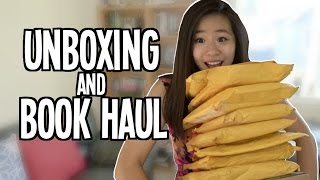 Ginormous Book Haul Unboxing 30 Books Giveaways