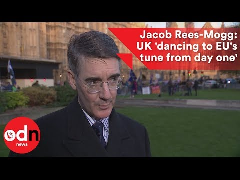 Jacob Rees-Mogg: UK 'dancing to EU's tune from day one'