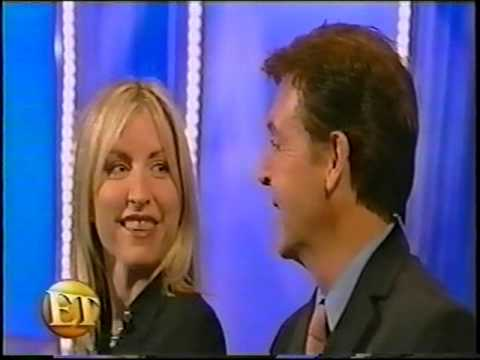 Paul McCartney & Heather Mills - Entertainment Tonight (10-24-00)