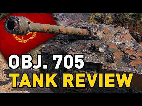 World of Tanks || Object 705 - Tank Review