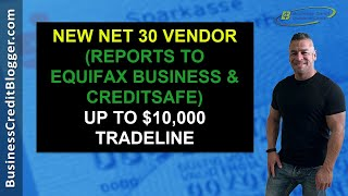 New Net 30 Vendor that Builds Business Credit  Business Credit 2021