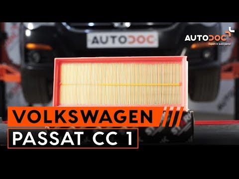 tutorial come sostituire filtro d aria motore su vw ForFiltro Aria Cabina Passat 2012