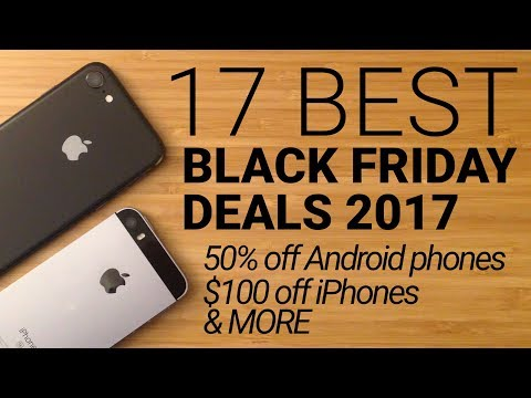 17 Best Black Friday Cell Phone Deals 2017!
