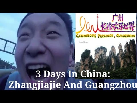 #2 Scary RollerCoaster Rides!||3 Days In China||Zhangjiajie,Guangzhou (Chimelong Paradise!)