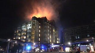 Tote bei Großbrand im Universitätsklinikum Bergmannsheil Bochum
