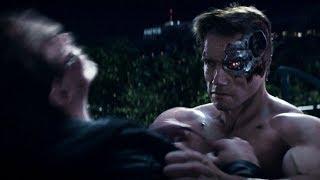 Reese Arrival \ Pops Vs T-800 | Terminator Genisys