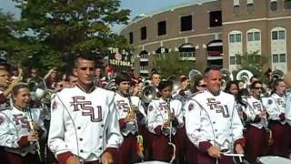 Marching Chiefs 2011 - Fight Song at Gameday