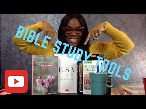 Bible Study Tools for beginners