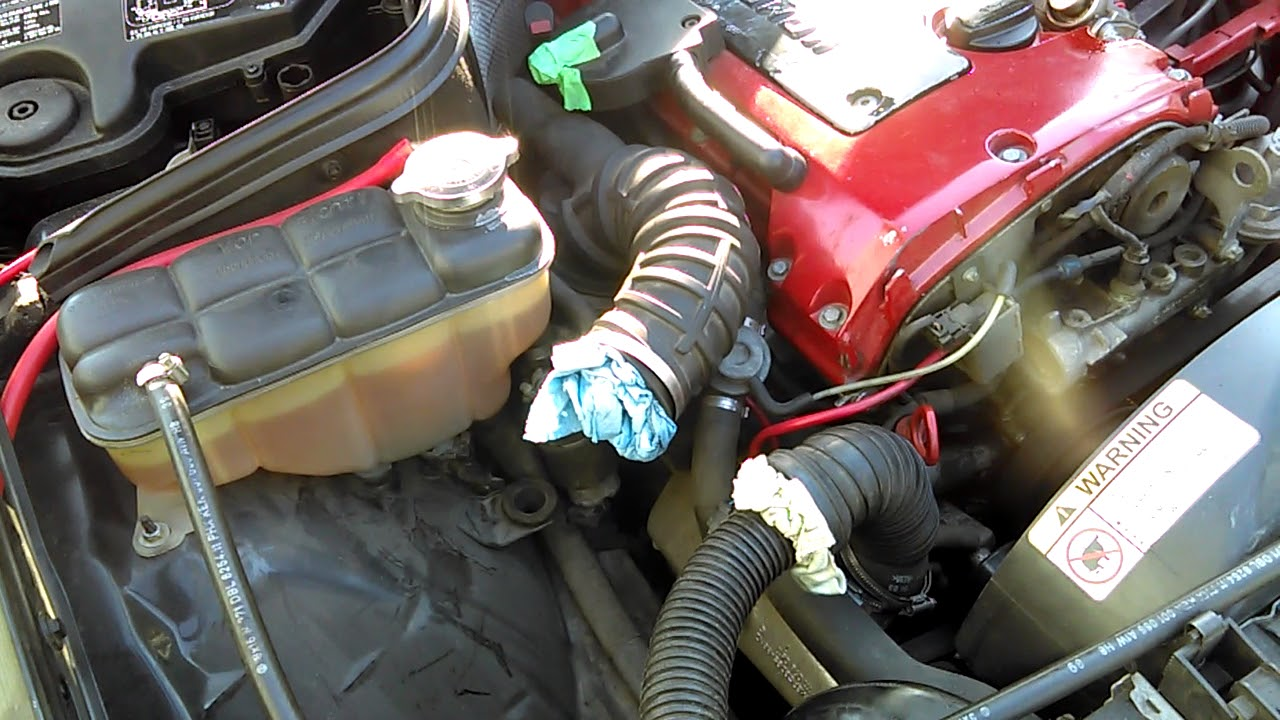 mercedes benz c230 kompressor vacuum leak test