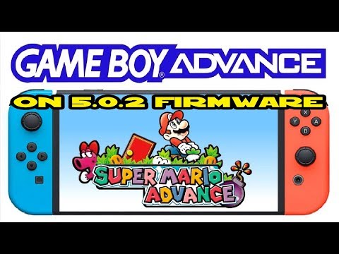 Gameboy Advance emulator for Nintendo Switch 5.0.2 HomeBrew Menu