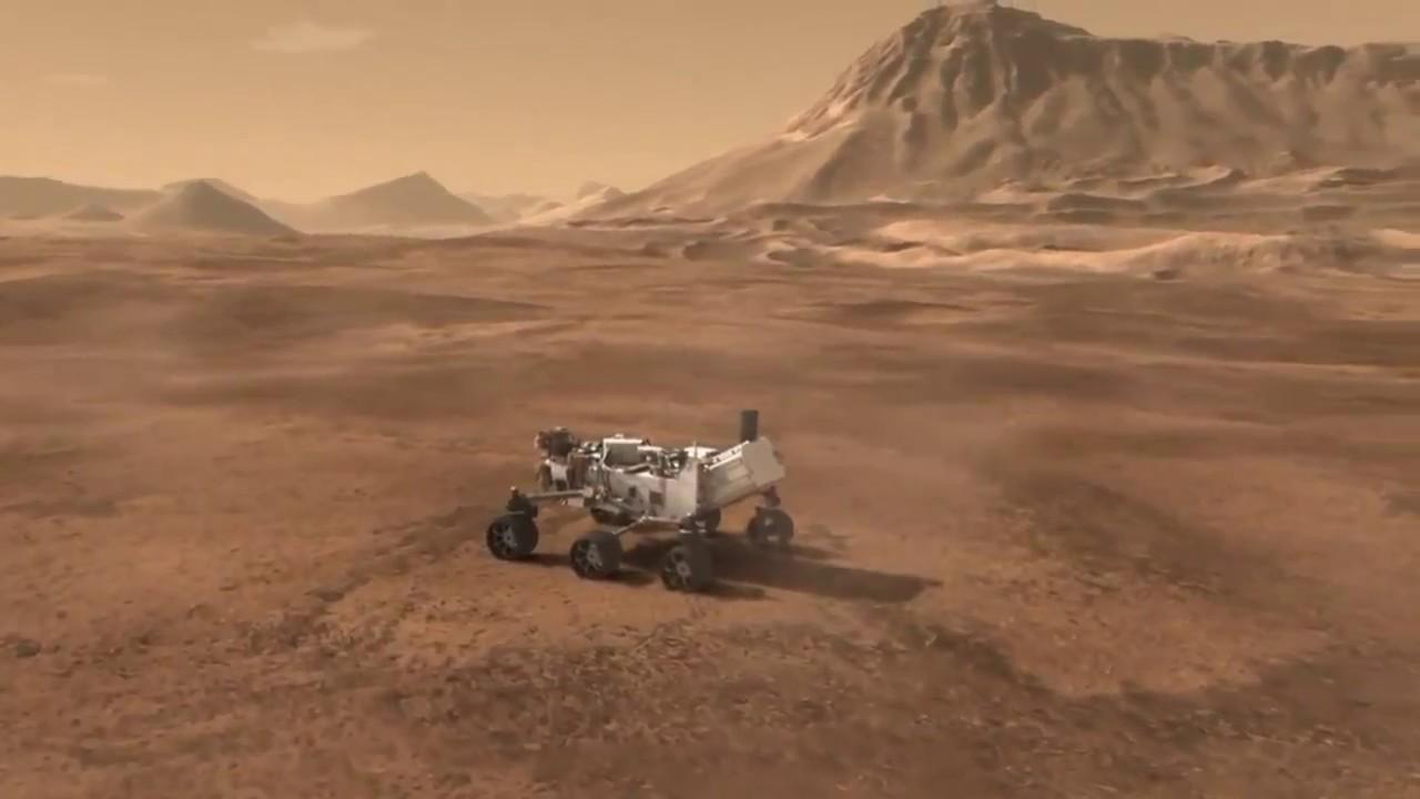 curiosity landing animation - photo #11