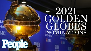 The golden globe 2021 nominations are here! 78th annual awards will air live on sunday february 28, 2021.subscribe to people ►► http://bit.l...