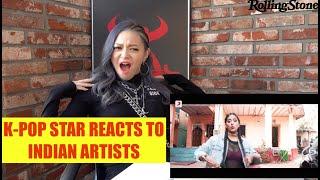 K-pop Star AleXa Reacts to Raja Kumari, DIVINE, Parekh & Singh and More