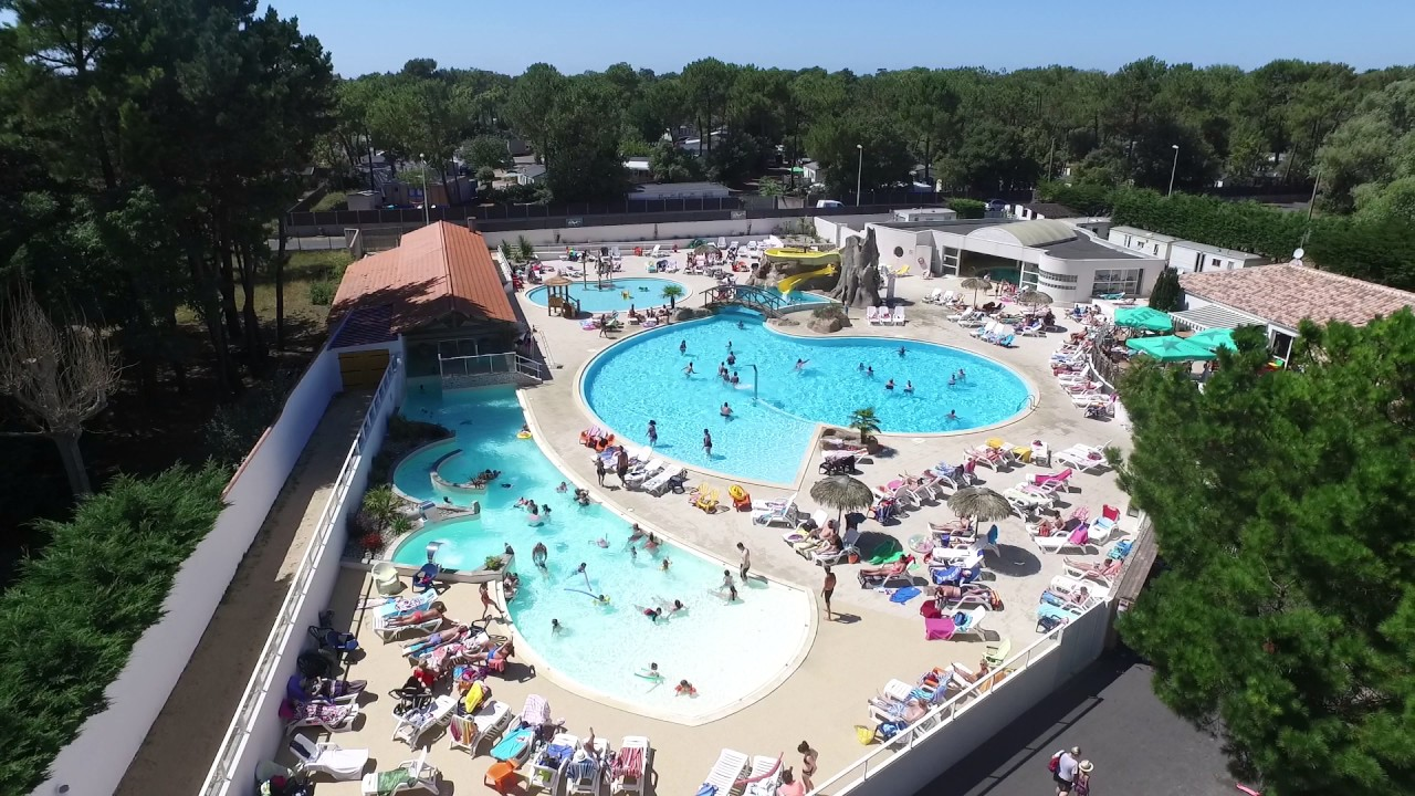 piscines camping la yole saint jean de monts youtube