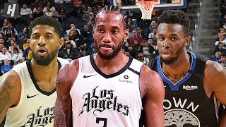 Los Angeles Clippers vs Golden State Warriors - Full Game Highlights |  March 10, 2020 NBA Season
